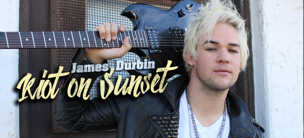 RIOT ON SUNSET: James Durbin On Bringing His Ambitious New Album To Life!