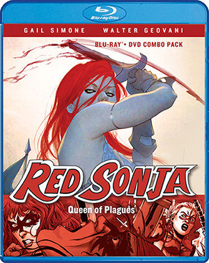 'Red Sonya: Queen of The Plagues'