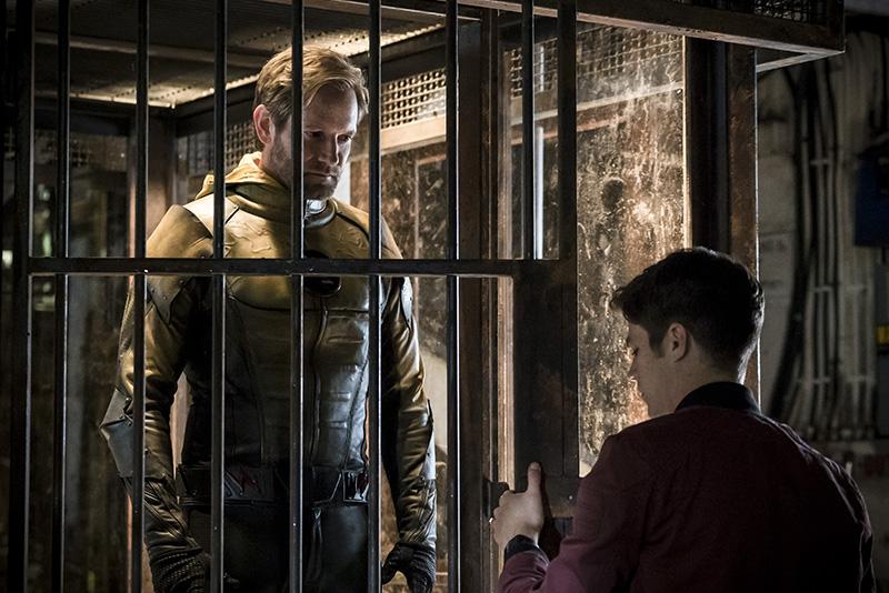 Matthew Letscher as Eobard Thawne in 'The Flash'