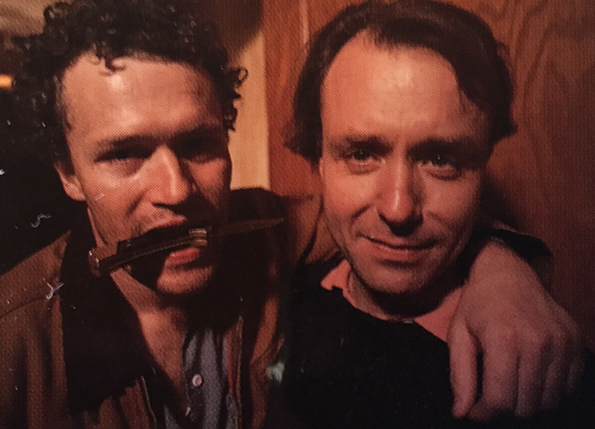 Michael Rooker and John McNaughton on the set of the cult classic.