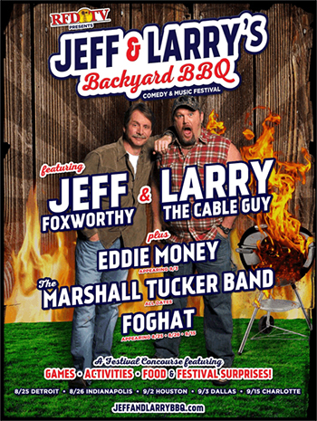 Jeff & Larry's Backyard BBQ Festival: Event To Feature Eddie Money, The Marshall Tucker Band, Foghat