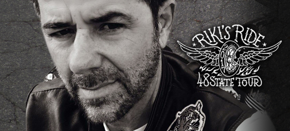 RIKI'S RIDE 2017: Riki Rachtman Takes On America With 48 State Ride For Charity!