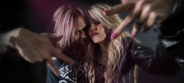 FEARLESS: Janet Gardner and Justin James On Creating Their Epic Rock Album!