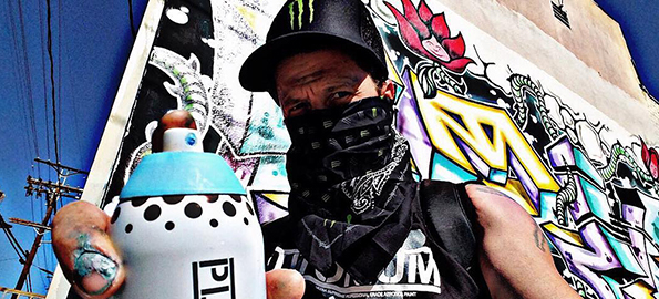 Stranger Than Fiction: Corin Nemec Chronicles His Secret Life As A Graffiti Artist!