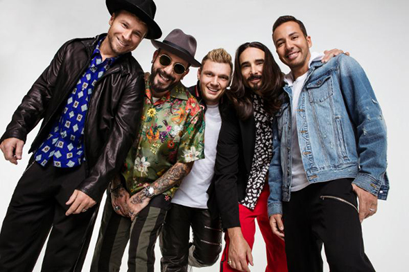 Backstreet Boys Then and now