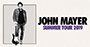 John Mayer Announces Dates For North American Leg of 2019 World Tour